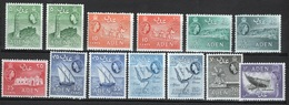 Aden 1953 Small Selection Of Queen Elizabeth Definitive Stamps In Mounted Mint Condition. - Aden (1854-1963)