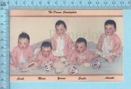 Les Quintuplées Dionne # 47 -  Photo Publicité Montrant Les Fillettes à La Fin De 1934, Reproduction - Bébés