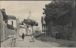 75 PARIS 18 E Rue De L'Abreuvoir Animation  1908 - Arrondissement: 18