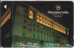 BULGARIA(GPT) - Hotel Sheraton Sofia, CN : 3BULB/B, Tirage 1000, 07/91, Used - Bulgaria