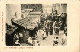 CPA Tanger- Rue Principale. MAROC (669207) - Tanger