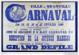 CPM - Carnaval De Granville - 50 Manche Normandie - Granville