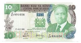 Kenya P.20 10 Shillings 1988   Unc - Kenia
