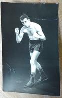 PHOTO BOXE DEDICACEE: à Identifier - Boxing