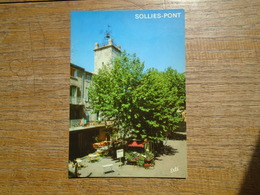 Sollies-pont , Le Centre-ville Et L'église - Sollies Pont
