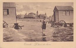 AK Ostende - L'heure Des Bains - Feldpost 1915 (34435) - Oostende