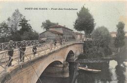Pont De Vaux Pub Chocolat Guérin Boutron Pêcheur - Otros Municipios