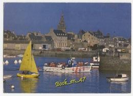 {38629} 29 Finistère Roscoff , Départ De La Vedette Pour L' île De Batz ; Animée - Roscoff
