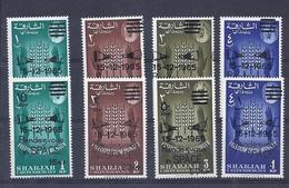 180028033  SHARJAH  YVERT  Nº  133/40  **/MNH - Sharjah