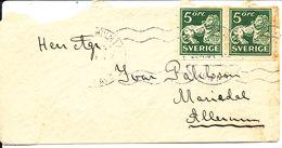 Sweden Small Cover Stockholm 20-12-1934 - Suède