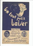 PARTITION ED PAUL BEUSCHER SAINT GRANIER UN TOUT PETIT BAISER - Noten & Partituren