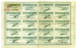 Azioni Industrie Femminili Italiane 1923 - Non Classificati