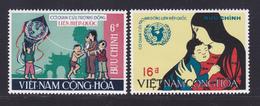 VIETNAM DU SUD N°  341 & 342 ** MNH Neufs Sans Charnière, TB (D7035) Année Internationale De L'enfance - Vietnam
