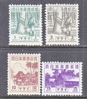 JAPANESE  OCCUP.  MALAYA  N 35-8   ** - Groot-Brittannië (oude Kolonies En Protectoraten)