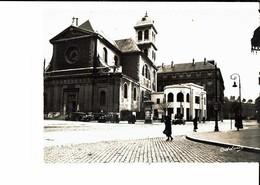 Grenoble église Saint Louis Et Le Syndicat D'initiative Photo Oddoux Cpsm Format 10x15 - Grenoble