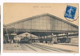 EPINAL  88  Quais De La Gare .1920 - Epinal