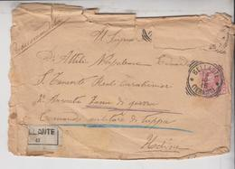 Storia Postale  Posta Militare Reali Carabinieri Zona Di Guerra Udine 1915 - 1900-44 Victor Emmanuel III