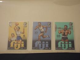 FIJI - 1971 SPORT 3 VALORI - NUOVI(++) - Fiji (1970-...)