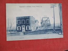 Approach To Bridge Jersey Shore   Pennsylvania > Ref 2944 - Vereinigte Staaten