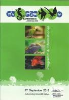 Deutschland Giessen 2016 / Experten Fur Tierhalter / 12p/ Perruche Lézard Poisson Parkiet Leguaan Vis Budgie Lizard Fish - Programas
