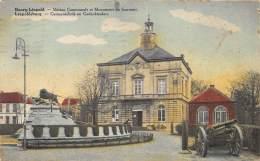BOURG-LEOPOLD - Maison Communale Et Monument Du Souvenir - Leopoldsburg