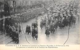 BRUXELLES - Funérailles De S.A.R. Mme La Comtesse De Flandre, Le 30-11-1912 - Les Généraux Et Membres De La Chambre ... - Fêtes, événements
