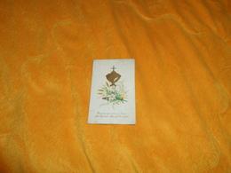 CHROMO OU IMAGE ANCIENNE DE 1878. / HEUREUX QUI A TROUVE JESUS...ANOTATION AU DOS SOUVENIR...1878.. - Devotion Images