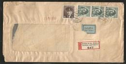 M) 1945 ČESKOSLOVENSKO, 3K 2ND LT. JIRI KRAL (FRENCH AIR FORCE), 5KC, CAPT ALOIS VASATKO (ROYAL AIR FORCE), AIR MAIL, CI - Czechoslovakia