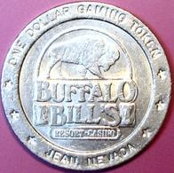 $1 Casino Token. Buffalo Bill's, Jean, NV. D83. - Casino