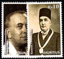 Mauritius 2012 Eminent Personalities Unmounted Mint. - Mauritius (1968-...)