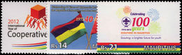 Mauritius 2012 Anniversaries And Events Unmounted Mint. - Mauritius (1968-...)