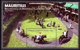 Mauritius 2012 Turf Club Souvenir Sheet Unmounted Mint. - Mauritius (1968-...)
