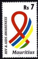 Mauritius 2011 HIV/AIDS Unmounted Mint. - Mauritius (1968-...)
