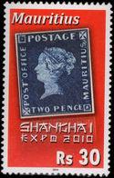 Mauritius 2010 Expo Shanghai Unmounted Mint. - Mauritius (1968-...)