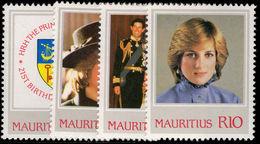 Mauritius 1982 Princess Diana Unmounted Mint. - Mauritius (1968-...)