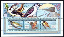 Mauritania 2000 Birds Sheetlet Unmounted Mint. - Mauritania (1960-...)