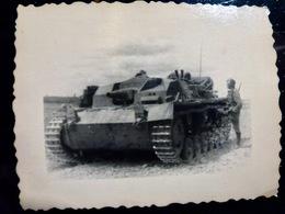 PHOTO WW2 WWII : CANON D'ASSAUT ** StuH 42 **       //1.22 - Guerra, Militari