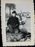 PHOTO WW2 WWII : TANKISTE - PANZERTRUPPEN              //1.39 - Guerre, Militaire