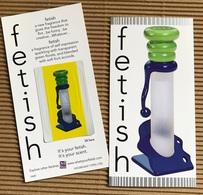 CC Carte Parfummée 'HOUBIGANT' FETISH Perfume Card PATCH - Modernes (à Partir De 1961)