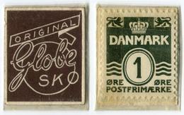 N93-0484 - Timbre-monnaie - Danemark - Globe SK - 1 Ore - Kapselgeld - Encased Stamp - Monétaires / De Nécessité