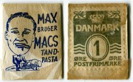 N93-0485 - Timbre-monnaie - Danemark - MAX Bruger - 1 Ore - Kapselgeld - Encased Stamp - Monetary /of Necessity