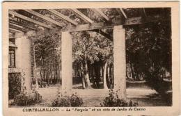 51ez 527 CPA - CHATELLAILLON - LA PERGOLA ET UN COIN DE JARDIN DU CASINO - Châtelaillon-Plage