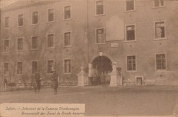 Julich - Juelich;Intérieur Caserne Charlemagne;Binnenzich Der Karel De Groote Kazerne;8 E Régiment Ligne( M.Cassan ,Aix) - Juelich