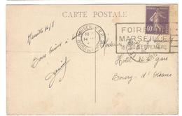 2269 - MARSEILLE FOIRE - Poststempel (Briefe)