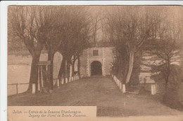Julich - Juelich -Entrée Caserne Charlemagne ;Ingang Der Karel De Groote Kazerne ,8 E Régiment De Ligne( M.Cassan) - Juelich