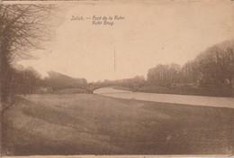 Julich - Juelich; Pont De La Ruhr ,Ruhr Burg( M.Cassan ; Aix-La-Chapelle) (EXP:Materne 8 E Régiment Ligne) - Juelich