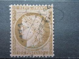 VEND TIMBRE DE FRANCE N° 58 , FOND LIGNE !!! (c) - 1871-1875 Cérès