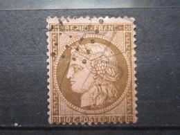VEND TIMBRE DE FRANCE N° 58 , FOND LIGNE !!! (d) - 1871-1875 Cérès