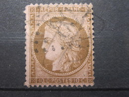 VEND TIMBRE DE FRANCE N° 58 , FOND LIGNE !!! (b) - 1871-1875 Cérès