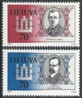 LITAUEN 1999 Mi-Nr. 687/88 ** MNH - Lituanie